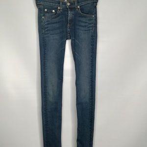 Rag & bone skinny jeans. Size 25.